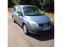 2004 Renault Grand Scenic 1.6 Manual Petrol Service History 7 seater 6 Months MOT