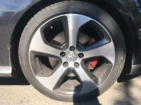 VOLKWAGEN GTI ALLOYS Nearly New Tyres