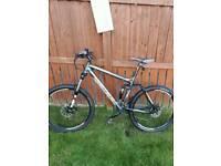 Carerra banshee mountain bike (large)