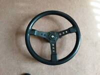 Snap on Removable Steering Wheel