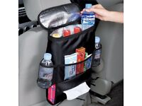New Car Seat Back Multi-Pocket Storage Cool Hot Bag Tidy Organizer Travel Holder