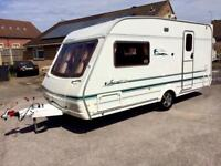 2 berth Swift Signature caravan 2004 with Dorema awning