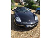Porsche Boxster 2.7 Tiptronic S, 2007, Basalt Black with full leather seats, 23,600 miles