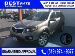 KIA SORENTO - APPROVED IN 30 MINUTES! - ANY CREDIT LOANS