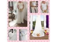 Baeza Pronovias 2012 Wedding Dress and Veil