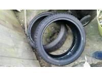 Pair tyres 205x40xr17