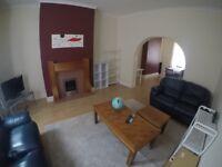 large leather sofa set
