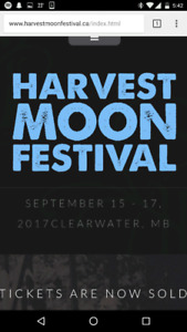 Harvest Moon Tickets wanted!
