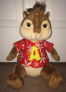 "Alvin & The Chipmunks ""Alvin"" Plush Stuffed Build A Bear 13""Tall"