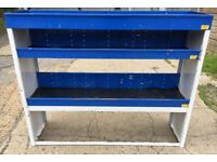 Van Shelving / Racking - Heavy Duty - Small to Medium Van - Good Condition