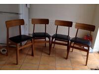 Retro vintage dining/kitchen chairs