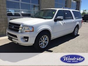 2017 Ford Expedition Max Limited 3.5L V6, LEATHER, REMOTE START