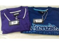 Brand new 2 mckenzie t-shirts both with tags
