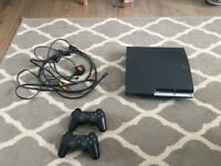 Playstation 3 slimline 350gb and game