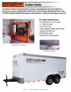 Complete Enclosed Insulated Trailer Packages