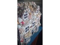 Bespoke dolls house sea shell creation