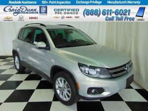 2014 Volkswagen Tiguan Comfortline TSI 4motion * Heated Leather