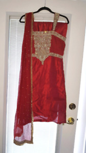 Red indian outfit