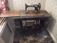 Lovely antique singer sewing machine