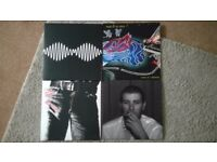 selection of played once records re issues