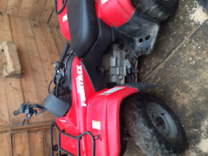 One owner low hrs Honda 250 Fourtrax