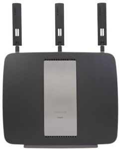 New Cond- Linksys AC3200 Tri-Band Wireless GB Router  + Extender