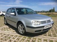 VOLKSWAGEN GOLF 1.6 PETROL MANUAL, F/S/H. EXCELLENT CONDITION.