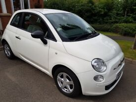 Fiat 500 POP. Excellent condition. 2010 reg. Low mileage