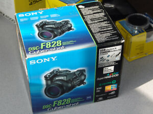 Sony DSC-F828 mirrorless and accessories