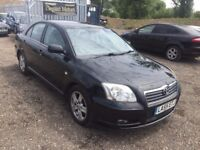 2006 Toyota Avensis**FULL SERVICE HISTORY**MOT 28-03-18**2 Keys**2 OWNERS**ALLOY WHEELS