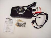 Suzuki outboard motor boat engine side mount remote control box ptt electric start