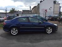 2007 ( 07 ) PEUGEOT 407 SE HDI 1997cc DIESEL SALOON BLUE 5 DOORS 100% HPi CLEAR (FINANCE AVAILABLE