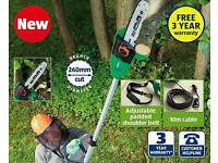 Brand new electric pole chainsaw