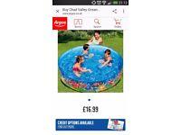 Childs pool.
