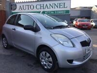 Toyota Yaris 1.0 VVT-i T2 3dr£2,485 p/x welcome FREE WARRANTY. NEW MOT