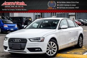 2014 Audi A4 Komfort Quattro|Sunroof|Leather|Bluetooth|Sat Radi