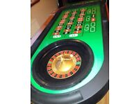 toy roulette wheel and board... good quality