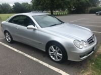 MERCEDES CLK 220 CDI AVANTGARDE DIESEL COUPE 2006, 1 FORMER KEEPER, SERVICE HISTORY, AUTO, LEATHER,