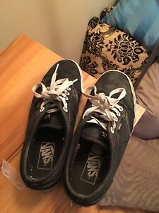 Gray vans - men US 7
