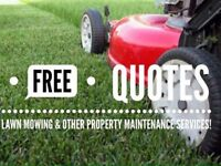 FREE QUOTES ON LAWN MOWING! LET US HELP YOU !