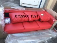 - 14 DAYS MONEY BACK GUARANTEE - ITALIAN STYLE __ LARGE 3+2 COMPLETE SOFA SET - ( BRAND NEW ) !!!