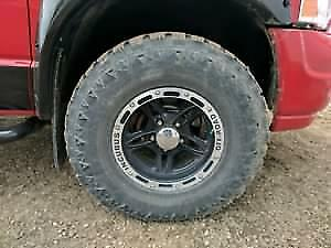 Dodge Ram rims and rubber
