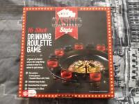 CASINO STYLE 16 SHOT DRINKING ROULETTE GAME