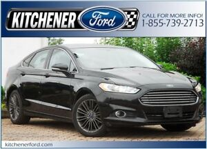 2014 Ford Fusion SE LEATHER/CAMERA/NAVI/HTD PWR SEATS AND MORE!