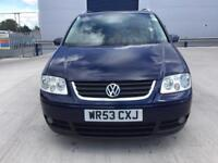 VW TOURAN 2.0 TDI PD SPORT, ONE OWNER,FULL SERVICE HISTORY