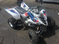 Yamaha Raptor quad bike 700r road legal