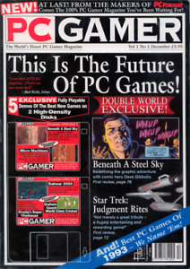 Looking for old issues of pc gamer magazine