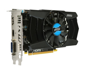 MSI Radeon R7 250X 2GD5 Video Card