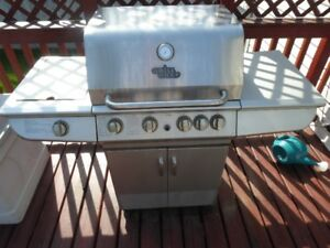 Grill Chef Barbeque BBQ - Great Condition with LPG Tank