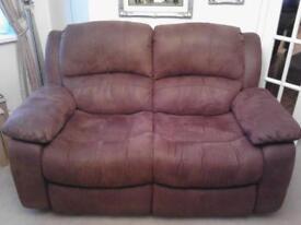 Suede effect Sofa